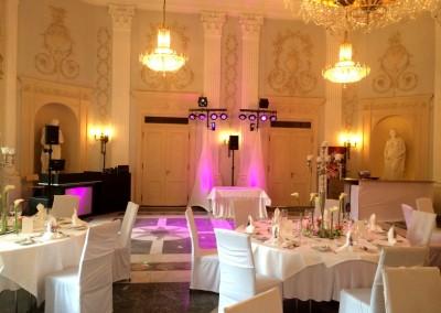 Hochzeitssetup in der Redoute Bonn-Bad Godesberg