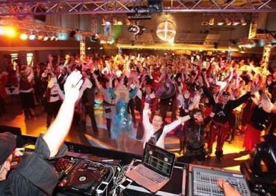 Die Nacht der Piraten in der Stadthalle Bad Godesberg mit DJNycco im Mainfloor