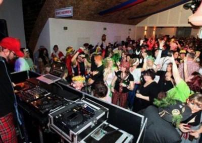 DJNycco zu Karneval im Zeughaus der Beueler Stadtsoldaten im Aguentur Auftrag
