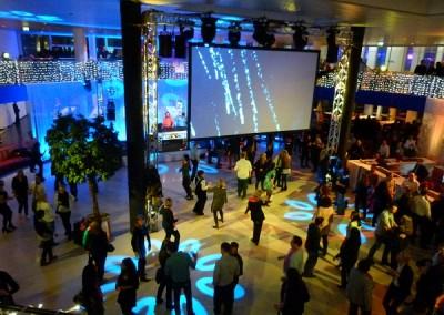 DJNycco auf dem 2.Dancefloor der Weihnachtsfeier 2013 der Deutschen Telekom in Bonn