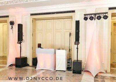 DJNycco Hochzeit Redoute Bonn Gartensaal