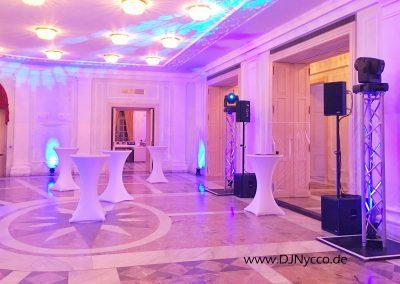 La Redoute Bonn, Gartensaal mit DJNycco