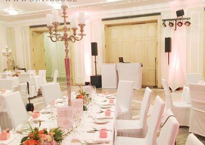 La Redoute Bonn, Hochzeit im Gartensaal mit DJNycco