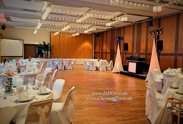 stadthalle bad godesberg. kleiner Saal. Hochzeit mit djnycco