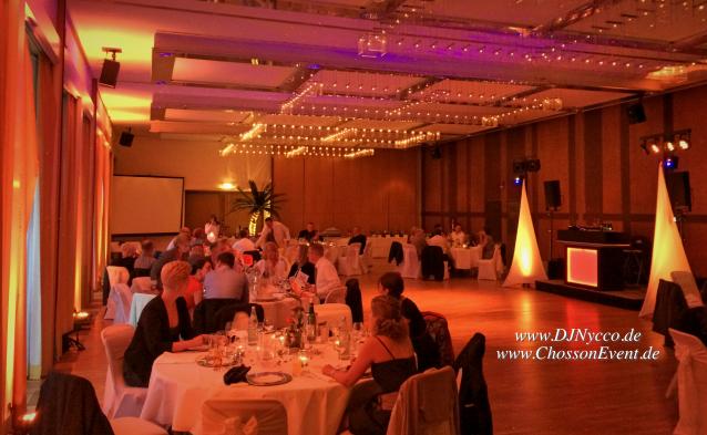 stadthalle bad godesberg. kleiner Saal. Hochzeit mit djnycco und chossonevent